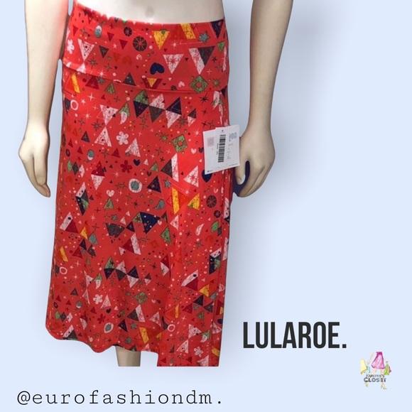 "🆕LulaRoe ""Azure"" Skirt."
